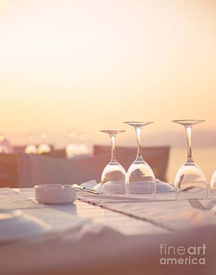 Photograph - Luxury Table Setting by Anna Om