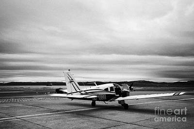 Ode Photograph - lv-ode piper pa-28 archer light aircraft aeroclub Ushuaia Argentina by Joe Fox