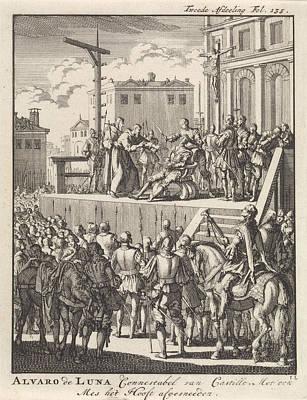 Lvaro De Luna Y Jarana, Constable Of Castile Art Print