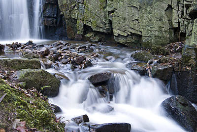 Waterfall Wall Art - Photograph - Lwv10016 by Lee Wolf Winter