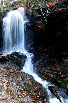 Waterfall Wall Art - Photograph - Lwv10017 by Lee Wolf Winter