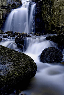Waterfall Wall Art - Photograph - Lwv10055 by Lee Wolf Winter