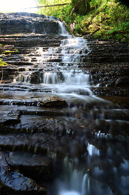 Waterfall Photograph - Lwv60001 by Lee Wolf Winter