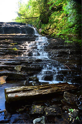 Waterfall Wall Art - Photograph - Lwv60004 by Lee Wolf Winter