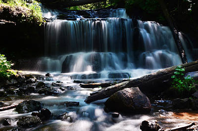 Waterfall Wall Art - Photograph - Lwv60015 by Lee Wolf Winter