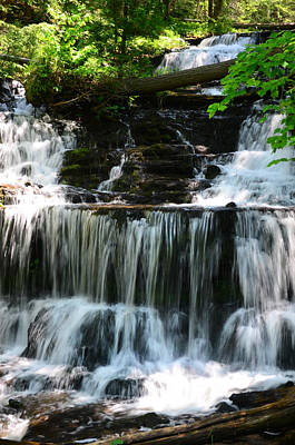 Waterfall Wall Art - Photograph - Lwv60017 by Lee Wolf Winter