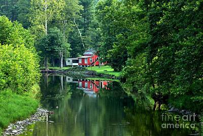 Photograph - Lycoming County Tranquility by Adam Jewell