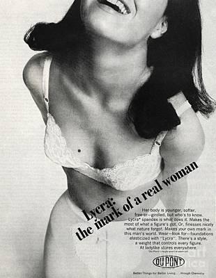 Black Commerce Photograph - Lycra Advert, 1966 by Hagley Archive