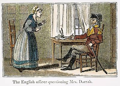 Lydia Darrah, 1777 Art Print by Granger