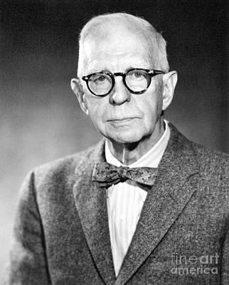 Lyman Briggs, Us Physicist Art Print by Emilio Segre Visual Archives/american Institute Of Physics