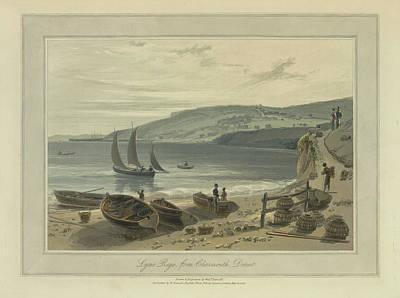 Lyme Regis Art Print by British Library