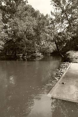 Photograph - Lynches River Sepia by MM Anderson