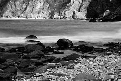 Photograph - Lynton And Lynmouth Coast by Lesley Rigg
