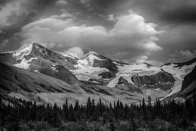 Canadian Rockies Photograph - Lynx Mountain by Ian Stotesbury