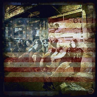 Digital Art - Lynyrd Skynyrd - Simple Man by Absinthe Art By Michelle LeAnn Scott