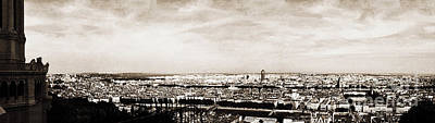 Photograph - Lyon From The Basilique De Fourviere by Paulette B Wright