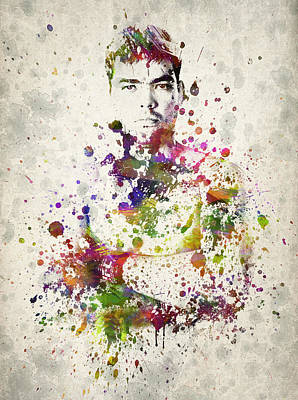Athlete Digital Art - Lyoto Machida by Aged Pixel