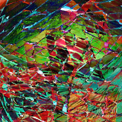 Digital Art - Lyrical Abstract1 by Megan Dirsa-DuBois