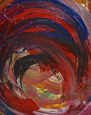 Painting - Intuitive Painting  516 by Joan Reese