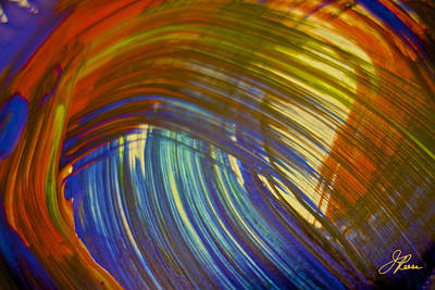 Painting - Lyrical Painting 505 by Joan Reese