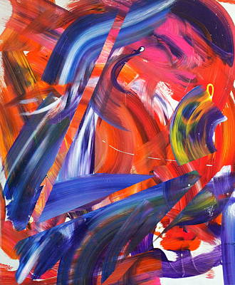 Bold Colours Painting - Lyrical Wax by Richard Day
