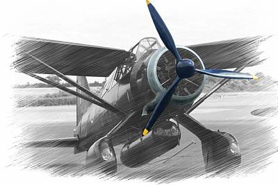 Lysander In Readiness Art Print by Donald Turner