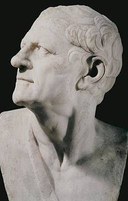 Statue Portrait Photograph - Lysimachus 355-281 Bc. King Of Thrace by Everett
