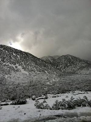 lytle Creek Mountains Art Print by Ishmael Torres