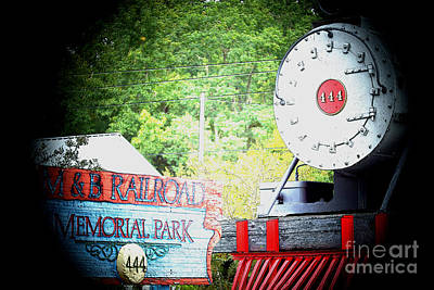 M And B Memorial Park Art Print by Kim Pate