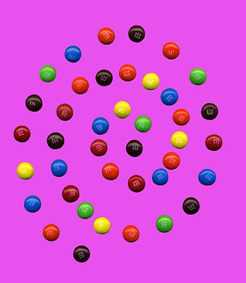 Candy Photograph - M And M 2 by Marilyn Hunt