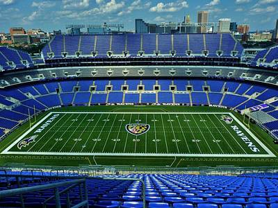 Sports Royalty-Free and Rights-Managed Images - M and T Bank Stadium by Bob Geary