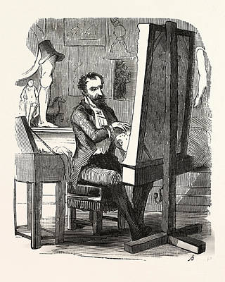M. Dermilly Painter, Europe Art Print