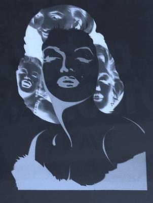 Keith Richards - M M C Y A N N E G A T I V E by Rob Hans