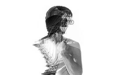 Digital Art - M by Panda Gunda
