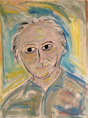 M. Portrait  Art Print by Maggis Art