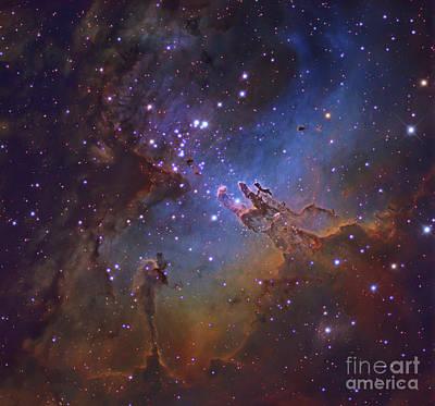 M16, The Eagle Nebula In Serpens Art Print