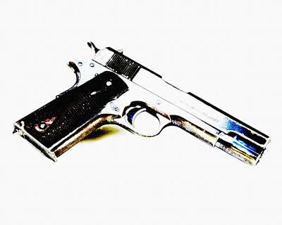 Army Photograph - M1911 Colt 45acp by VRL Art