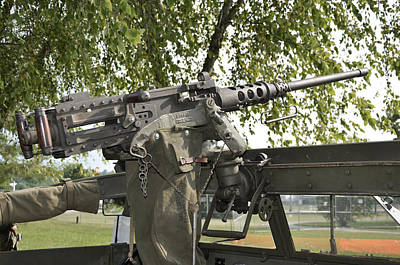 Photograph - M2 Browning by Paul Mashburn