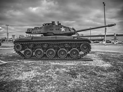 Tank Photograph - M41 Walker Bulldog  V3 by John Straton