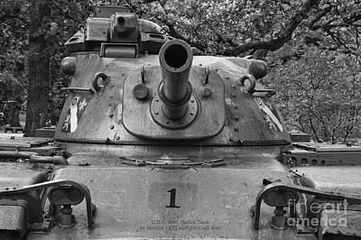M60 Tank Photograph - M60 Patton Tank Turret by Thomas Woolworth