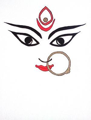 Maa Kali Art Print