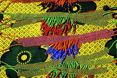 Beadwork Photograph - Maasai Beadwork by Michele Burgess