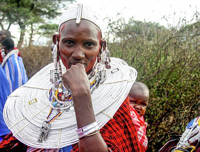 Gathering Photograph - Maasai Meeting Of The Elders by Photostock-israel