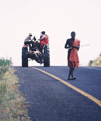 Maasai Moment  Art Print by Joe  Connors