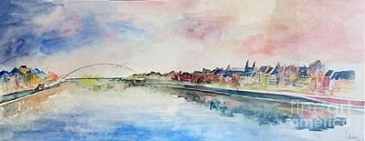 Maastricht Painting - Maastricht by Melanie Waidler
