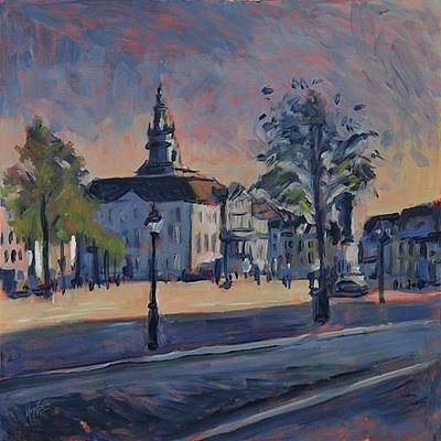 Lights Painting - Maastricht Town Hall by Nop Briex
