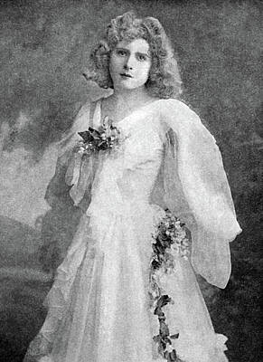 His Excellency Photograph - Mabel Love (1874-1953) by Granger