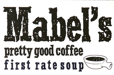 Photograph - Mabels Cafe by Jeff Gater