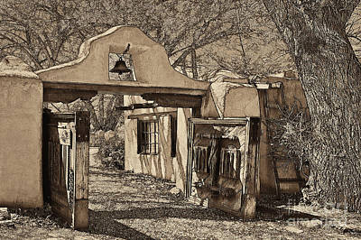 Mabel's Gate - A Different View Art Print by Charles Muhle