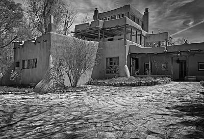 Mabel's Place In B And W Art Print by Charles Muhle